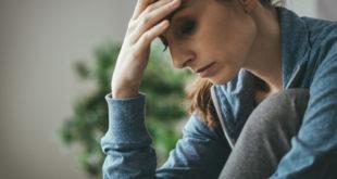 Depression bei einer Frau